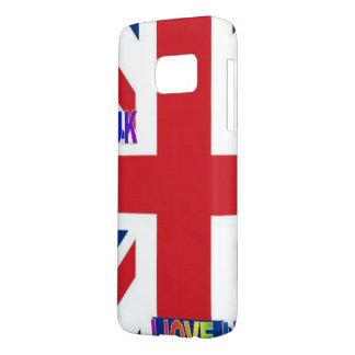 I LOVE UK SAMSUNG GALAXY S7 CASE