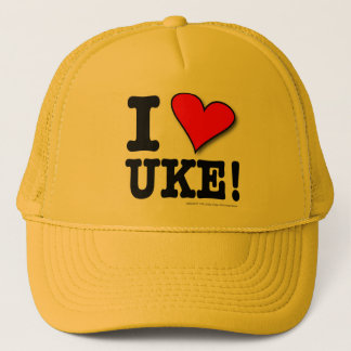 I LOVE UKE Designer Cap