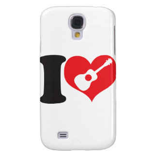 I Love Uke Samsung Galaxy S4 Case