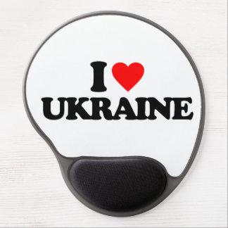 I LOVE UKRAINE GEL MOUSEPADS