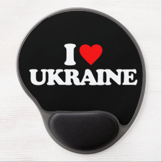 I LOVE UKRAINE GEL MOUSE PADS