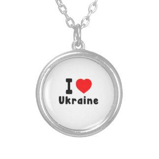 I Love Ukraine. Custom Jewelry
