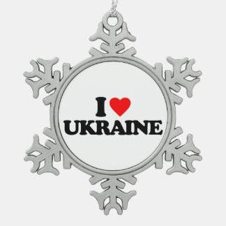 I LOVE UKRAINE ORNAMENTS