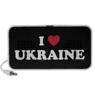 I Love Ukraine Portable Speaker