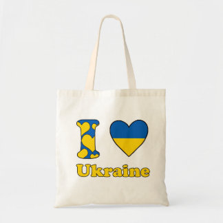 I love Ukraine Tote Bag