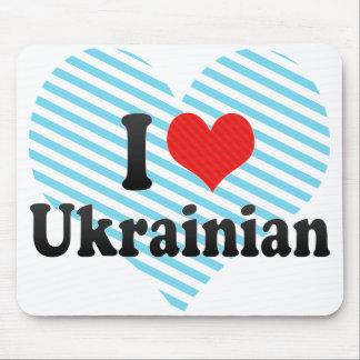 I Love Ukrainian Mouse Pad