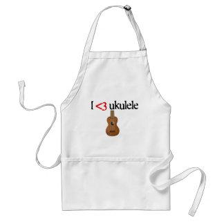 I love ukulele aprons