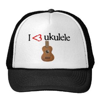 I love ukulele hat