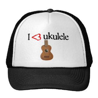 I love ukulele trucker hat