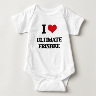 I Love Ultimate Frisbee Shirt