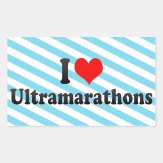 I love Ultramarathons Sticker