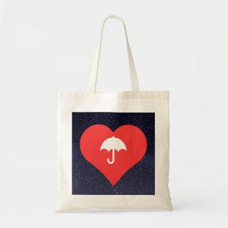 I Love Umbrellas Budget Tote Bag