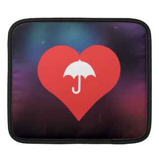 I Love Umbrellas iPad Sleeve