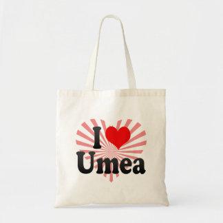 I Love Umea, Sweden Bags