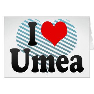 I Love Umea, Sweden Card
