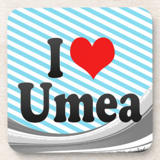 I Love Umea, Sweden Coasters