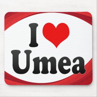 I Love Umea, Sweden Mousepads