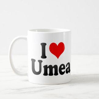 I Love Umea, Sweden Coffee Mug