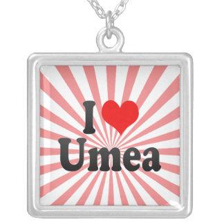 I Love Umea, Sweden Pendants