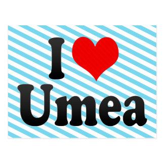 I Love Umea, Sweden Postcards