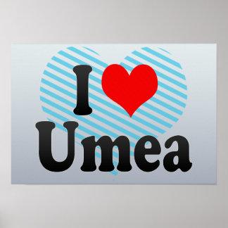 I Love Umea, Sweden Poster