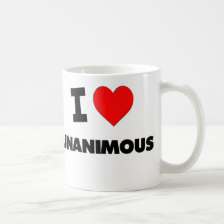 I love Unanimous Coffee Mug