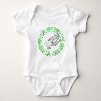 I love unborn babies baby bodysuit
