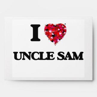 I love Uncle Sam Envelopes