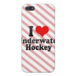 I love Underwater Hockey iPhone 5 Cover