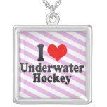 I love Underwater Hockey Necklaces