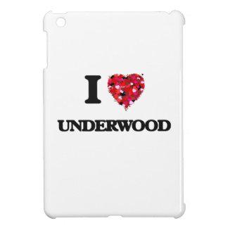 I Love Underwood iPad Mini Covers