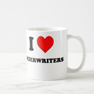 I Love Underwriters Coffee Mug