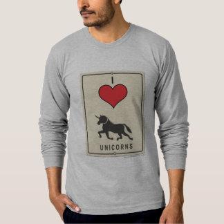 I Love Unicorns T-Shirt