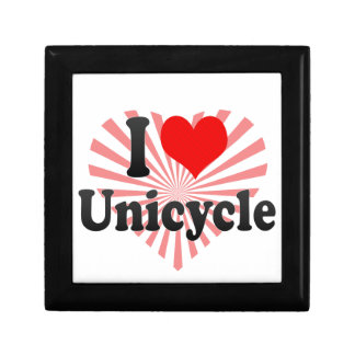 I love Unicycle Gift Boxes