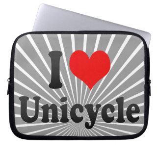 I love Unicycle Laptop Sleeve