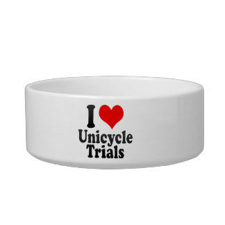 I love Unicycle Trials Cat Bowls