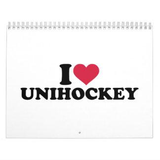 I love Unihockey Calendar