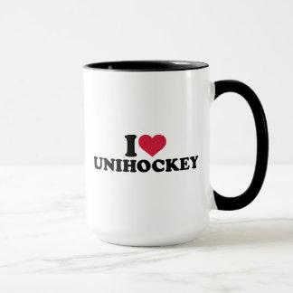 I love Unihockey Mug