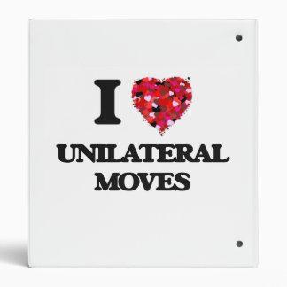 I love Unilateral Moves Binder