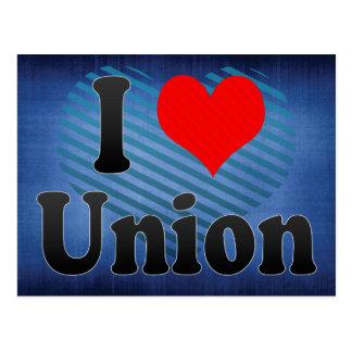 I Love Union, United States Postcard