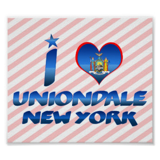 I love Uniondale, New York Poster