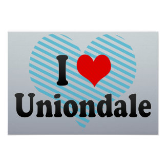 I Love Uniondale, United States Posters