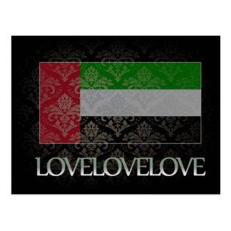 I love United Arab Emirates Cool Postcard