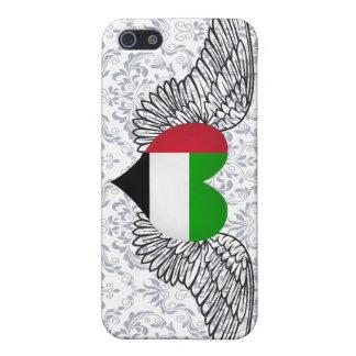 I Love United Arab Emirates -wings iPhone 5 Cases