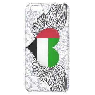I Love United Arab Emirates -wings iPhone 5C Cases