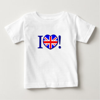 I Love United Kingdom Infant T-shirt