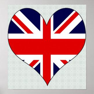 I Love United Kingdom Print