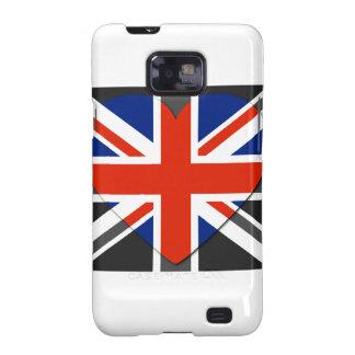 I love United Kingdom - SS Galaxy case Samsung Galaxy S2 Covers