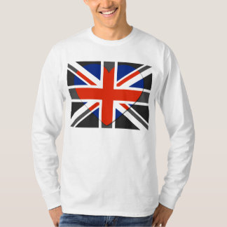 I love United Kingdom  - Vintage T-shirts
