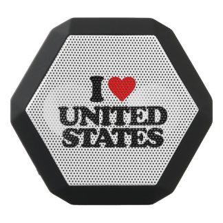I LOVE UNITED STATES BLACK BLUETOOTH SPEAKER